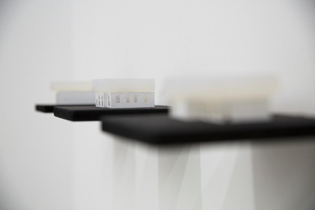 Berndnaut Smilde, Installation View, Antipode, Ronchini Gallery (11 April – 14 June 2014)