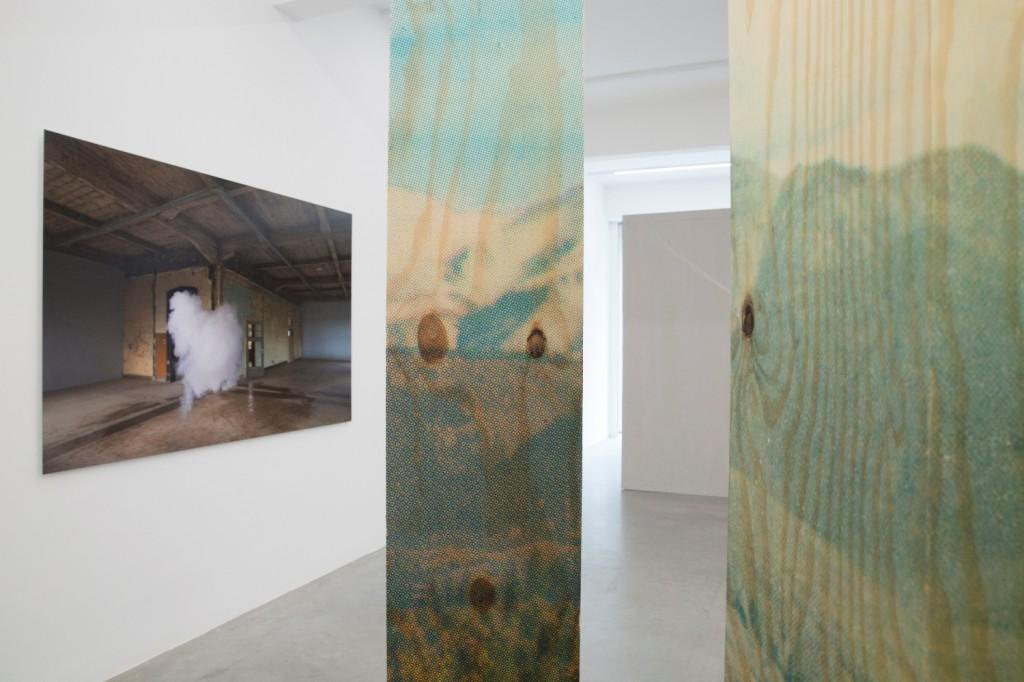 Berndnaut Smilde, Installation View, Antipode Ronchini Gallery ( 11 April – 14 June 2014)1