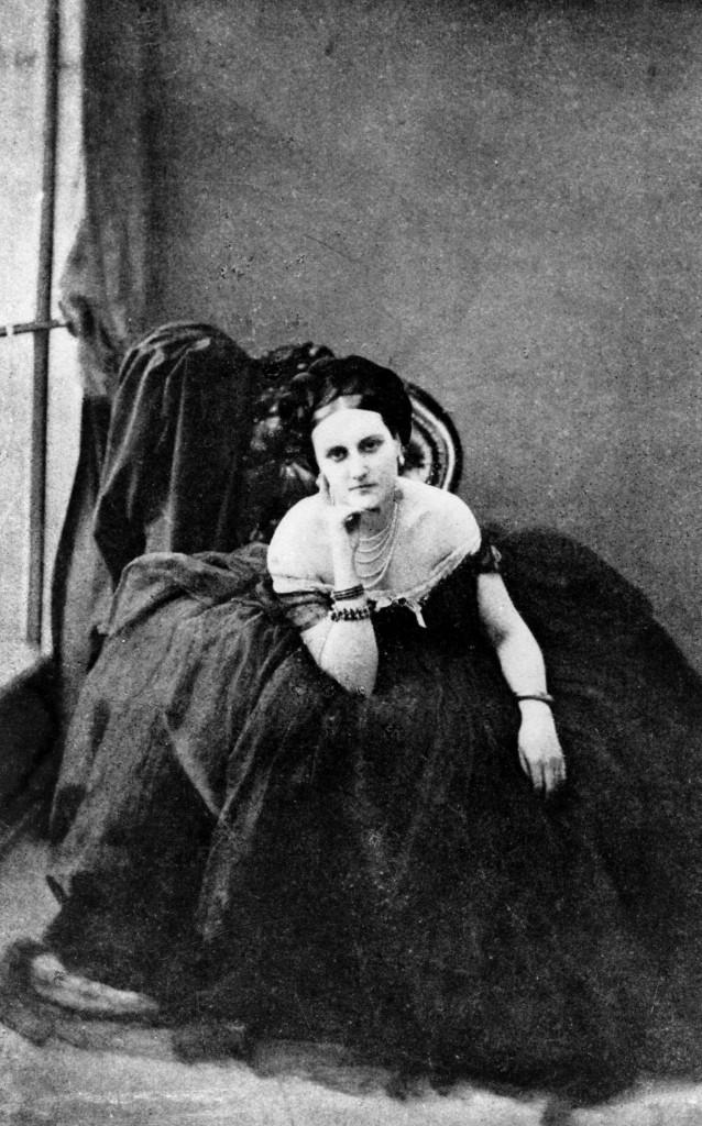 La contessa di Castiglione (Virginia Verasis Oldoini 1837-1899) 1880 ca. Credit: Roger-Viollet/Alinari