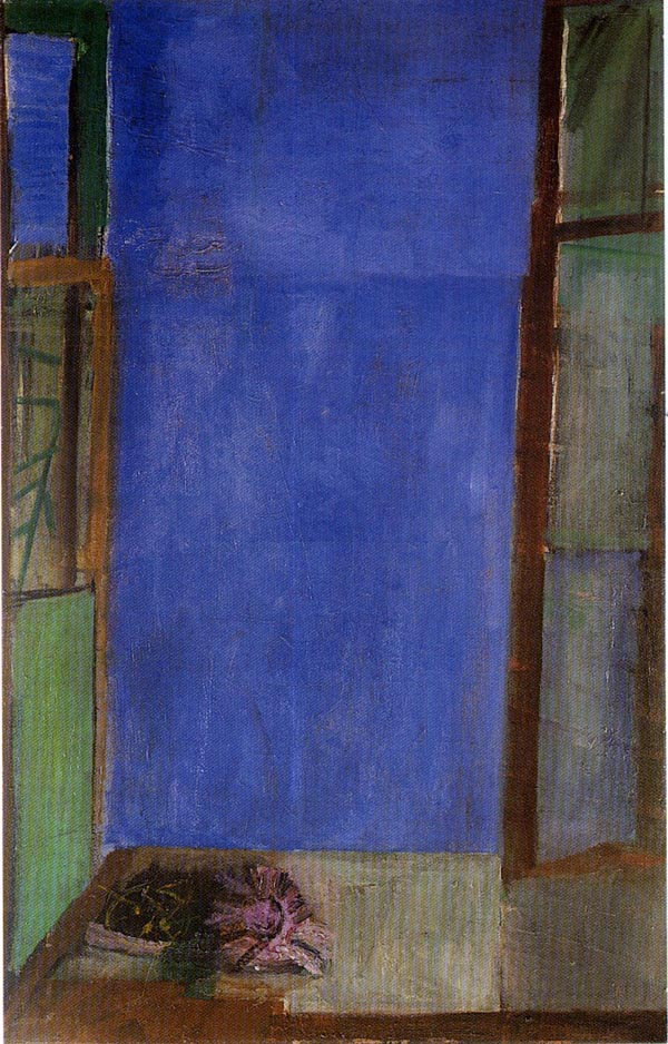 Bruno Cassinari, La finestra, 1953, courtesy Archivio Cassinari, Milano