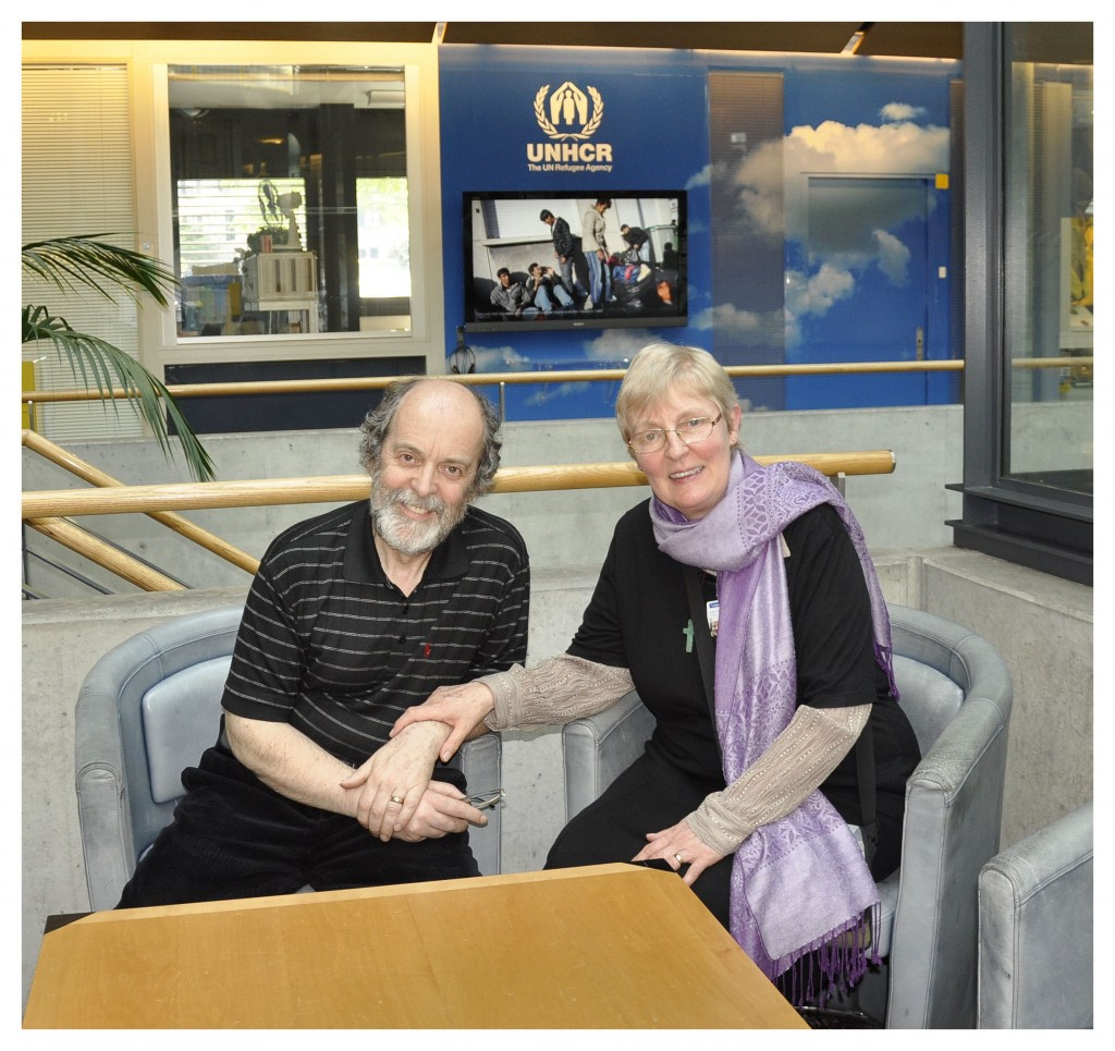 Ian and Angela Moor, UNHCR, Geneva, 2012, courtesy  The Centre for Photographic Conservation