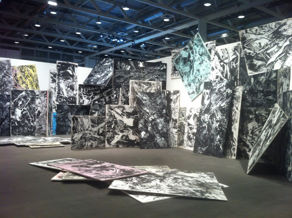 Emilio Vedova, ...in continuum, Art Basel Unlimited 2015