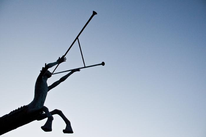 Jumping Centaur, Fritz Roed Sculpture park