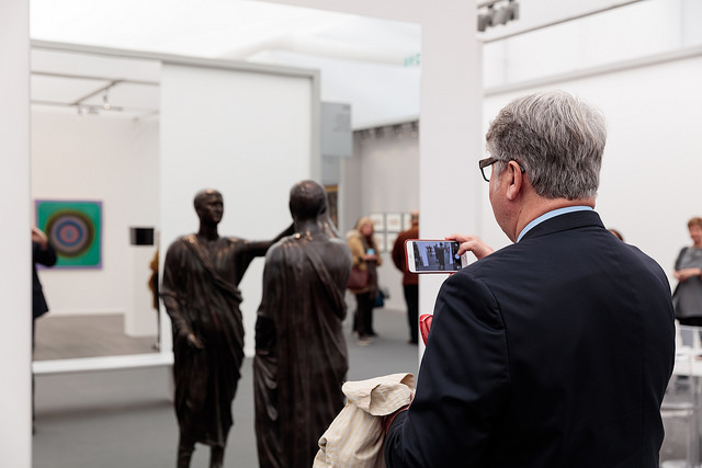 Galleria Continua, Frieze Masters 2015  Photograph by Mark Blower. Courtesy of Mark Blower/Frieze.