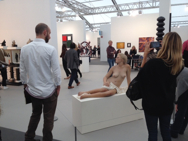 Frieze 2015, photo Francesca Marcaccio Hitzeman