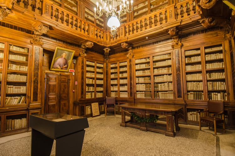 Sala Fontanini - Civica Biblioteca Guarneriana