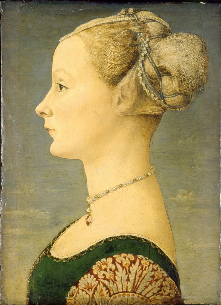 Piero del Pollaiolo (attribuito a) (Firenze 1443 - Roma 1496), Ritratto di donna, © Milano, Museo Poldi Pezzoli