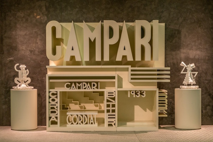 Fortunato Depero, Galleria d'Arte Campari, Campari