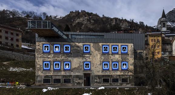 Wall, Monica Biancardi, Nuovo spazio di Casso, ph Giacomo De Dona